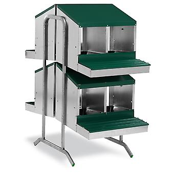 Gaun Battery Ponoderos with Bucket - 8 Departments (Birds , Chickens , Nesting boxes)
