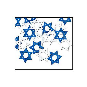 Star of David tabell konfetti