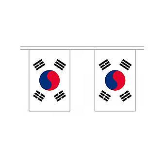 Corea del sur 6m 20 bandera del empavesado
