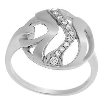Orphelia plata 925 anillo circonio ZR-7085