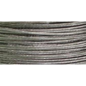 Cord Basics 7-Strand Beading Wire .45mmX40'-Silver