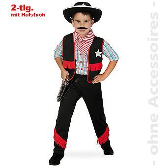 Cowboy Sheriff ku Shepherd barn drakt