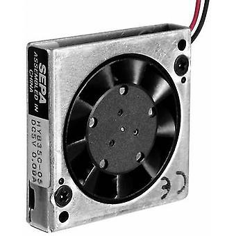 Axial ventilador 5 Vcc 1,6 m³/h (L x W x H) 35 x 35 x 7.5 mm SEPA