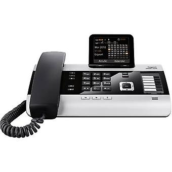 PBX ISDN Gigaset DX600A ISDN Answerphone, Bluetooth Colour Silver, Black