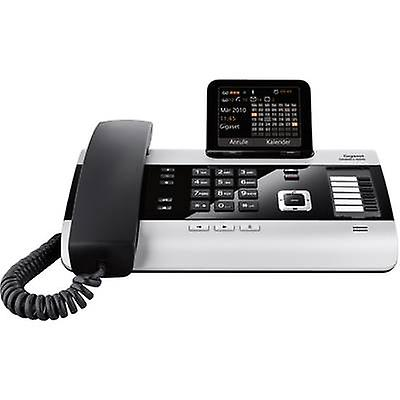 PBX ISDN Gigaset DX600A ISDN Answerphone, bleutooth Colour argent, noir