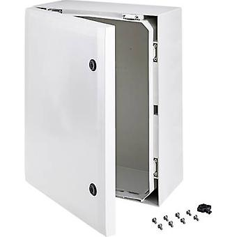 Fibox ARCA 8120011 montaje en pared gabinete 500 x 400 x 210 gris de policarbonato (PC) 1 PC