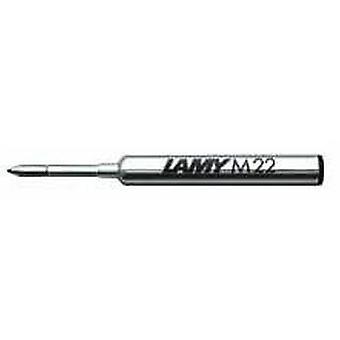Lamy M 22 amplio compacto bolígrafo recarga - azul