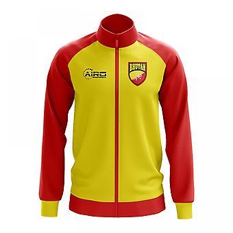 Bhutan Concept Football Track Jacket (Yellow) - Kids