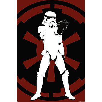 Star Wars poster Stormtrooper glow the dark special printing