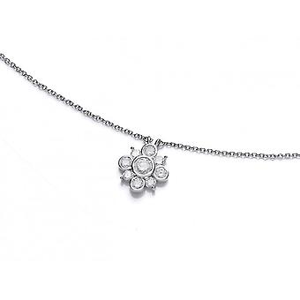 Cavendish French Cubic Zirconia Bubble Star Necklace