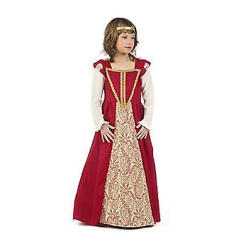 Königin Mädchenkostüm Edeldame Prinzessin Kinderkostüm
