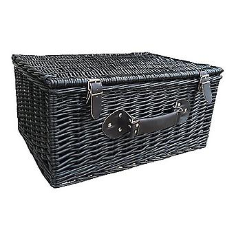 51cm Black Willow Basket
