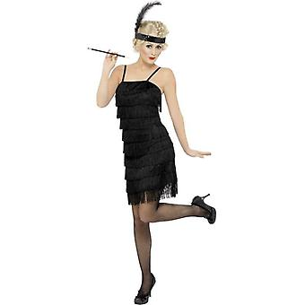 Fringe Flapper Costume, UK Dress 8-10