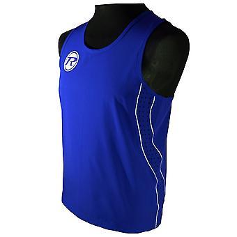 Ringside Boxing Short and Vest Set Blue