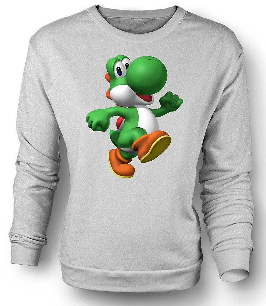 Mens Sweatshirt I Love Yoshi - Gamer