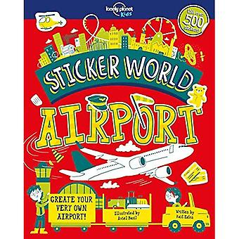 Sticker World - luchthaven (Lonely Planet kinderen)
