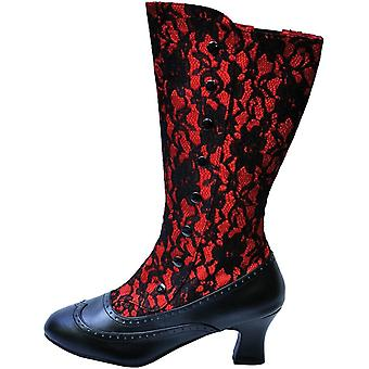 Boot Spooky Red Size 7
