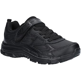 Skechers Boys Nitrate Microblast Stretch Lace Smart Trainers