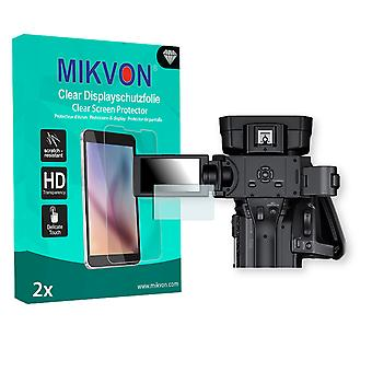 Sony HXR-NX100 Screen Protector - Mikvon Clear (Retail Package with accessories)