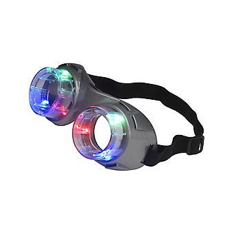 Alien Brille mit Lichteffekt
