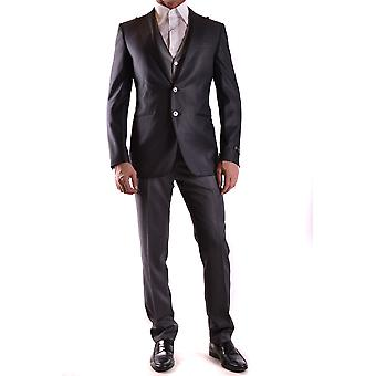 Corneliani Grey Wool Suit