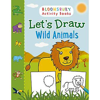 Let's Draw Wild Animals - 9781408879177 Book