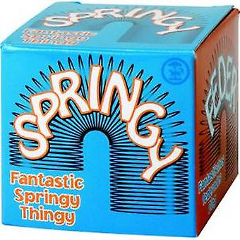 Springy Precompressed Helical Spring Toy
