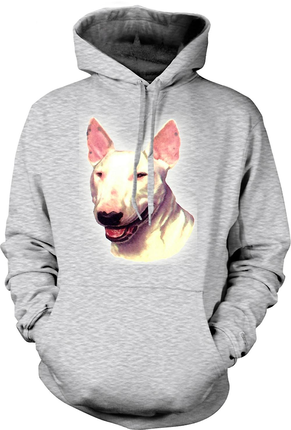 Mens Hoodie - English Bull Terrier - Pet Dog