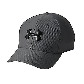 Under Armour Blitzing 3.0 Kids Stretch Fit Baseball Cap Hat Grey
