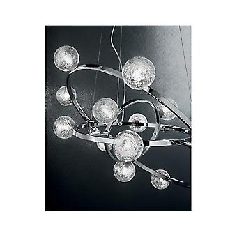 Ideale Lux Orbital 1 Glühbirne Anhänger Licht0