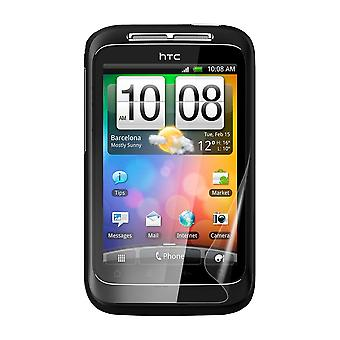 Celicious Vivid Plus Mild Anti-Glare Screen Protector Film Compatible with HTC Wildfire S [Pack of 2]