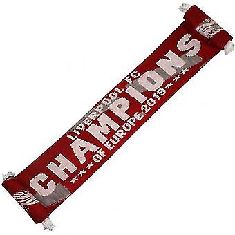 Liverpool F.C. tørklæde mestre i Europa RG