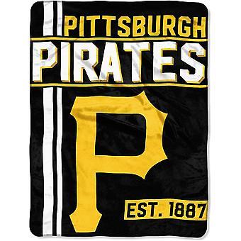 Northwest MLB Pittsburgh Pirates Mikro Plüschdecke 150x115cm