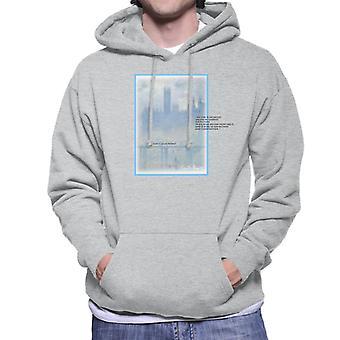 A.P.O.H Oscar Claude Monet Painting Quote Men's Hooded Sweatshirt