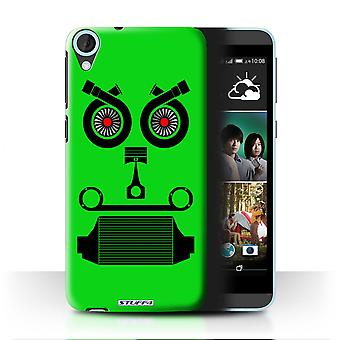 STUFF4 Case/Cover for HTC Desire 820q Dual/Turbo/Green/Car Part Faces