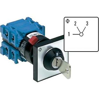 Uniselector 20 A 2 x 60 ° Grey, Black Kraus & Naimer CH10 A230-600 *FT2 V750D/3J 1 pc(s)