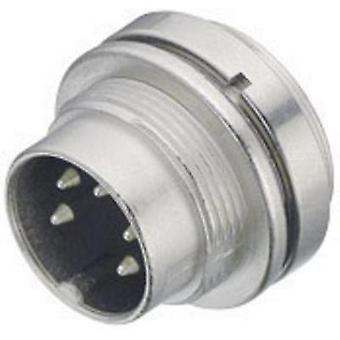 Binder 09-0115-00-05 09-0115-00-05 Miniature Circular Connector Nominal current (details): 6 A Number of pins: 5