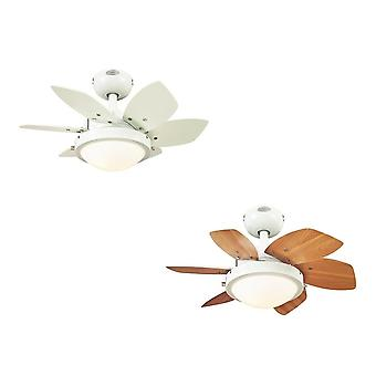 Westinghouse ceiling fan Quince white with light