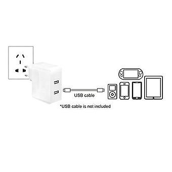 USB charger Mains socket LogiLink PA0094 Max. output current 3400 mA 2 x USB
