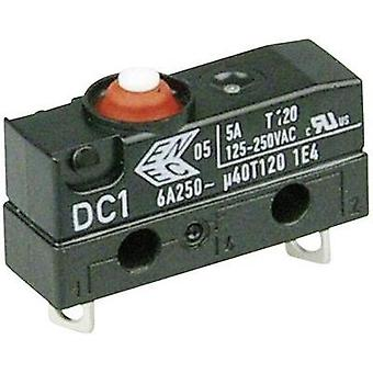 Microswitch 250 Vac 6 A 1 x On/(Off) Cherry Switches DC1B-A1AA IP67 momentary 1 pc(s)