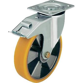 Blickle 282582 Swivel castor, medium-heavy design Ø 160 mm with locking device Type (misc.) Guide roller with end stop