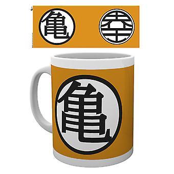 Dragon Ball Z Symbols Mug
