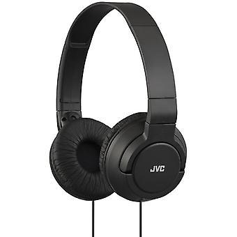 JVC auriculares ligero bajo potente - negro (HAS180B)