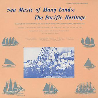 Sea Music of Many Lands: The Pacific Heritage - Sea Music of Many Lands: The Pacific Heritage [CD] USA import