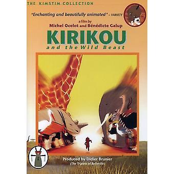 Kirikou & vilddyret [DVD] USA importerer