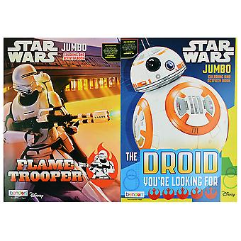 Star Wars Episode 7 JUMBO Coloring Books [2-Pack] - Assorted