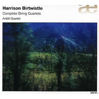 H. Birtwistle - Harrison Birtwistle: Komplet strygekvartetter [CD] USA import