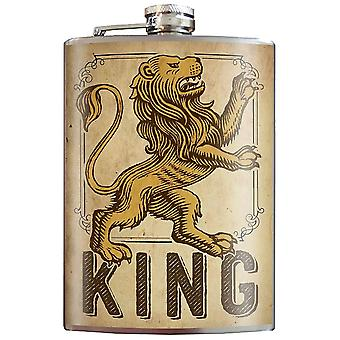 Trixie & Milo KING Stainless Steel Hip-Flask