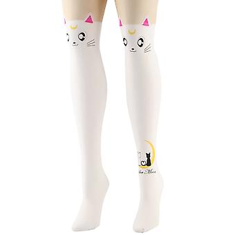 Attitude Clothing White Sailor Moon Tights