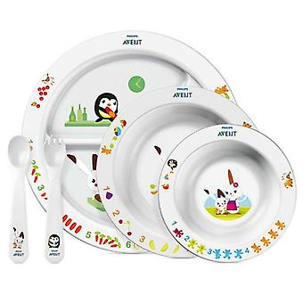 Avent complete dishes (Childhood , Healthy diet , Power Accessories , Crockery)